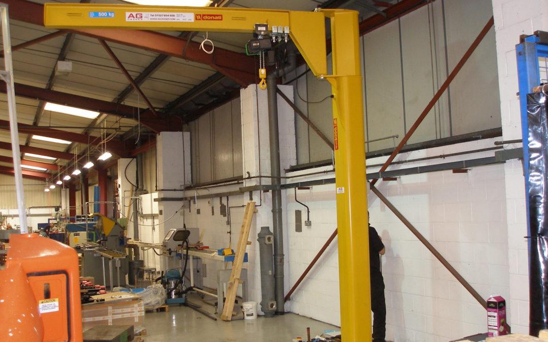 125kg Donati Underbraced Jib Crane