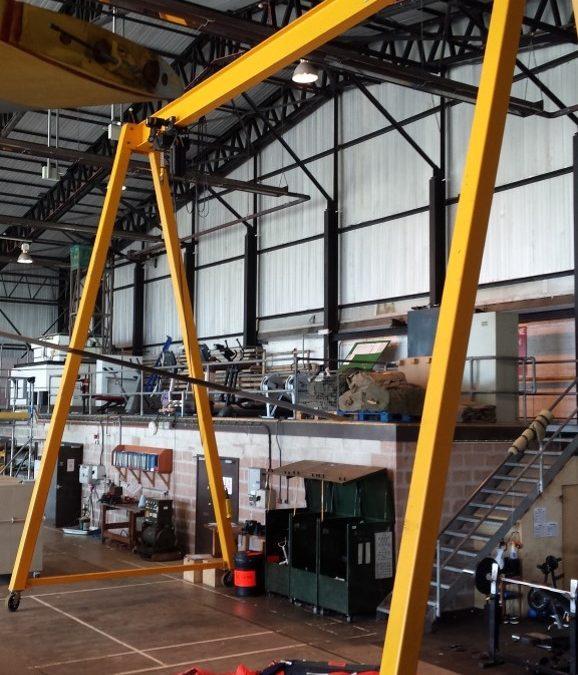 Used 2000kg A-Frame AG320