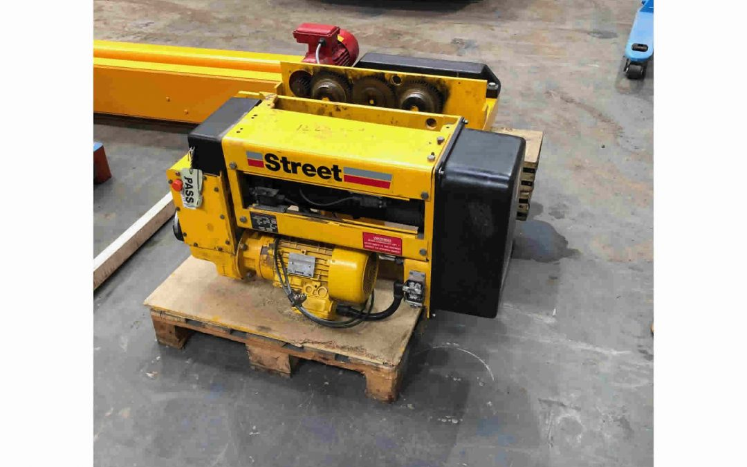 4 tonne Street Crane Wire Rope Hoist For Sale.