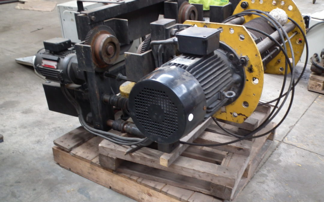 Used 5t wire rope hoist for sale