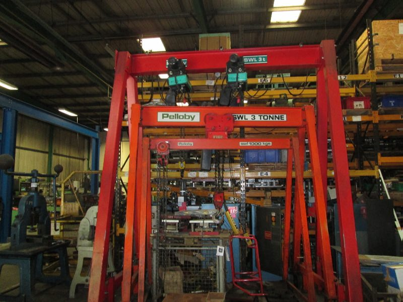 Push chain hoist AG314-1