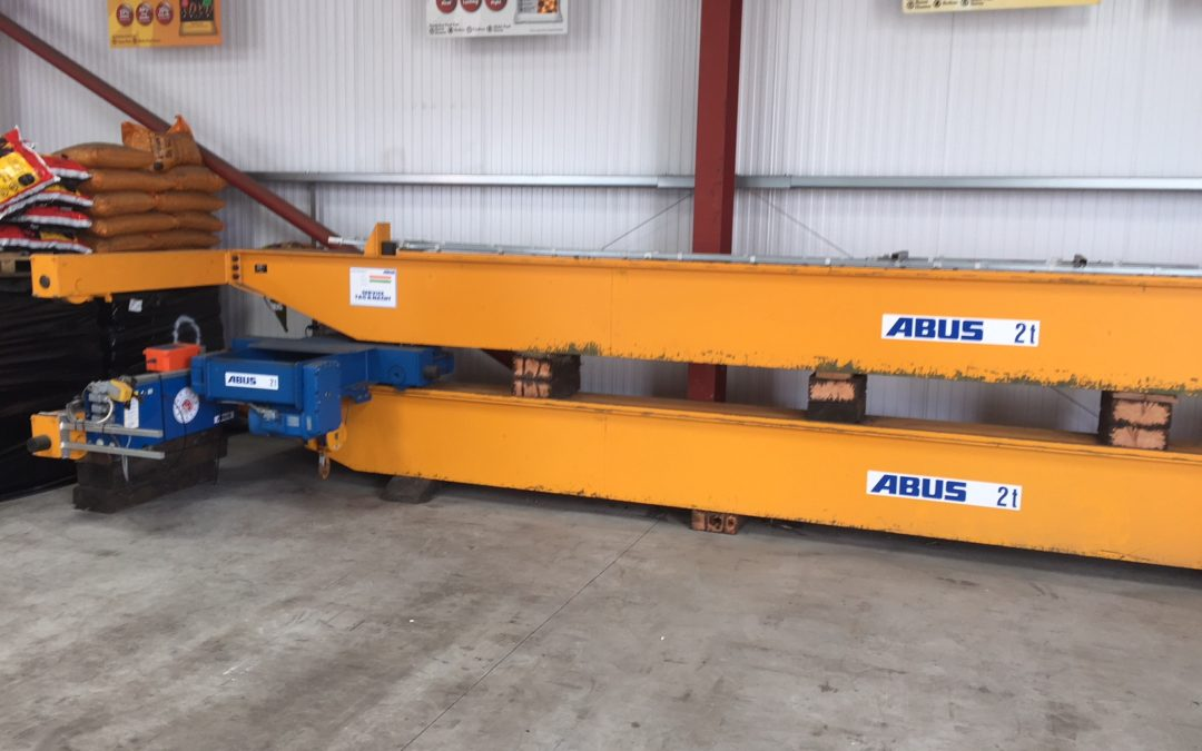 2 tonne SWL Abus Crane For Sale.