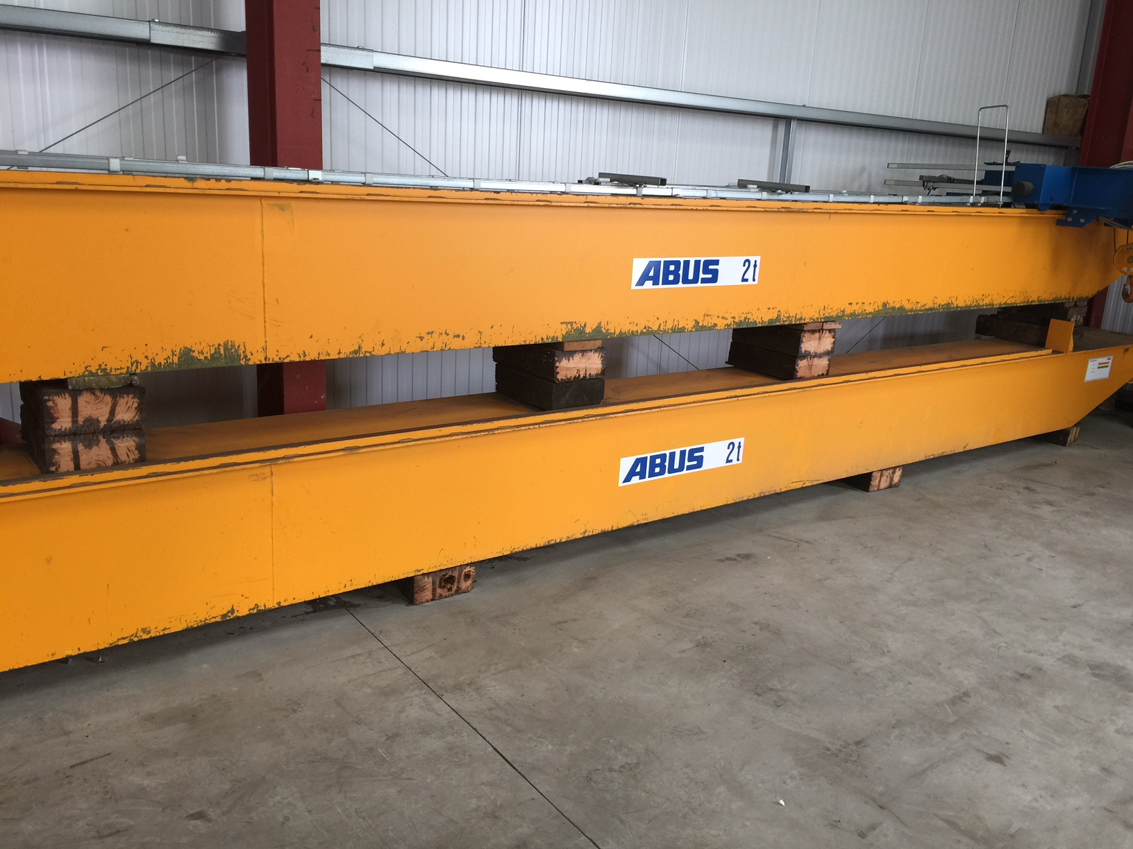 2 tonne SWL Abus Crane - SOLD