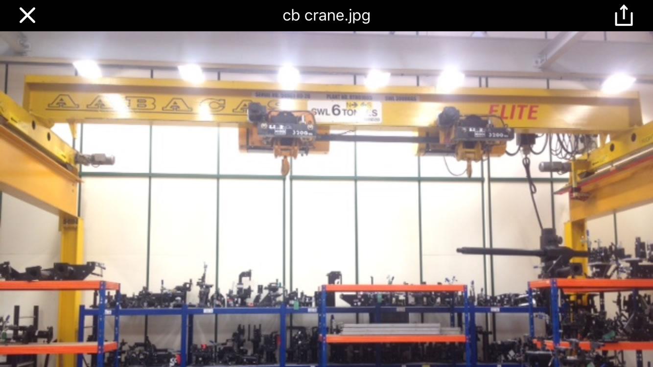 5 tonne crane rails