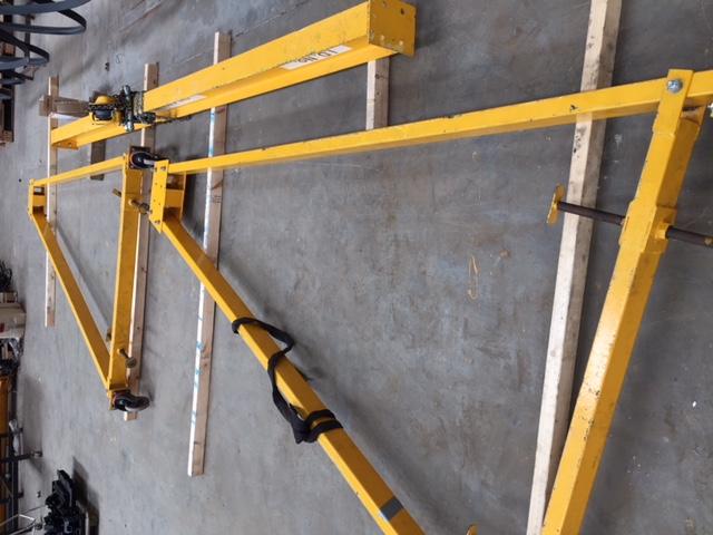 a frame dismantled 1