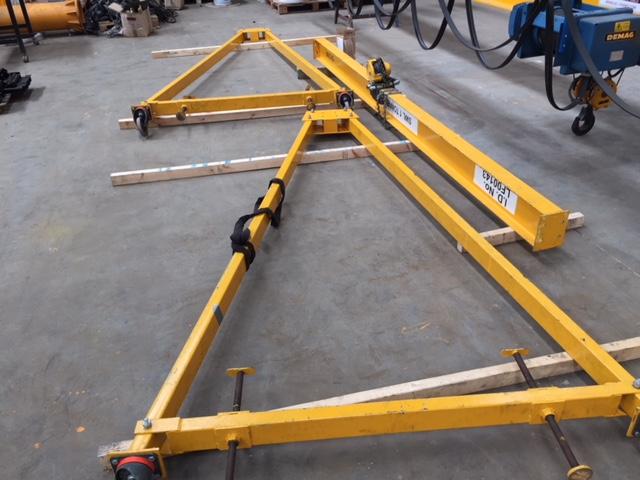 a frame dismantled 2