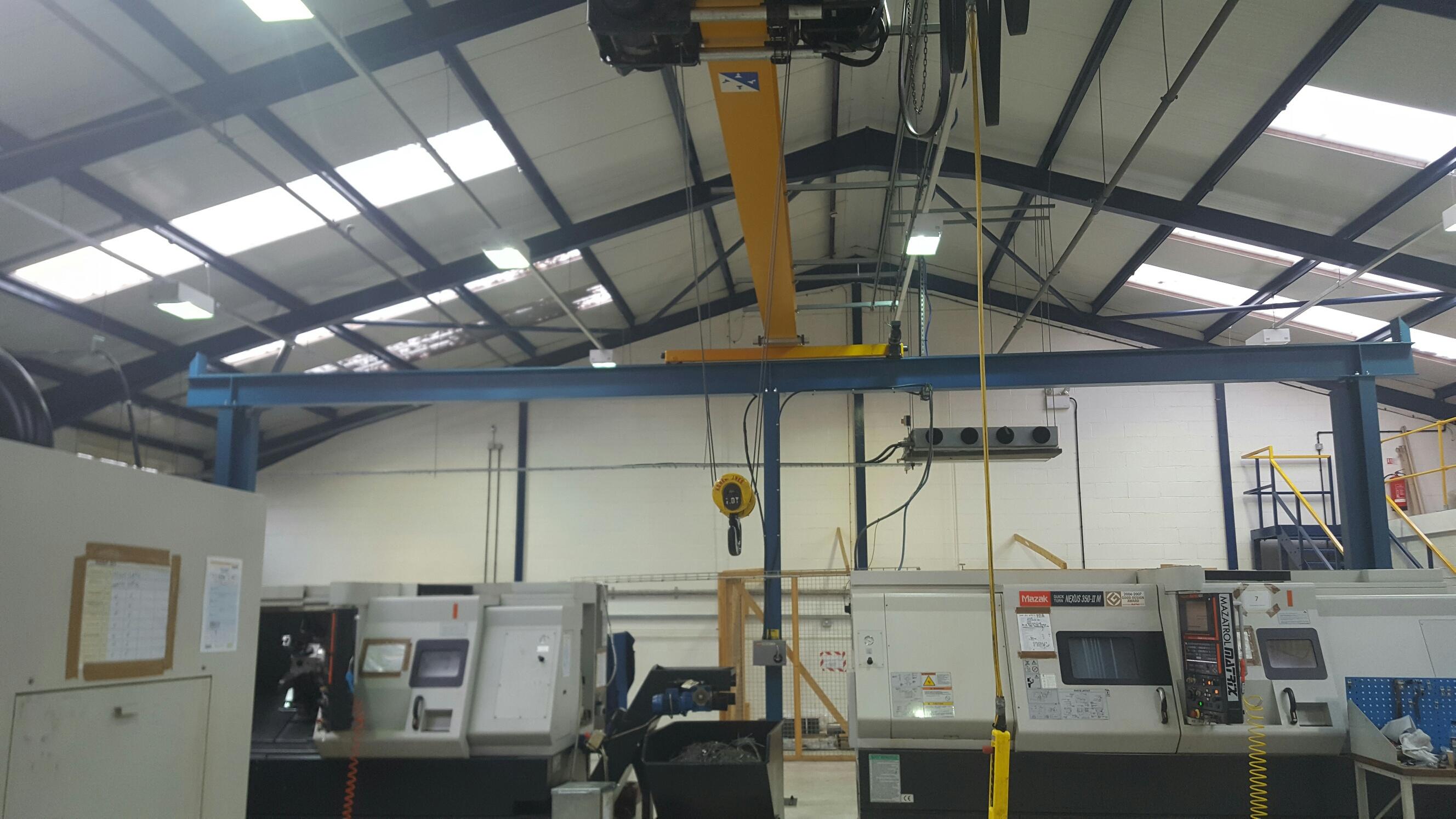 crane gantry steel work
