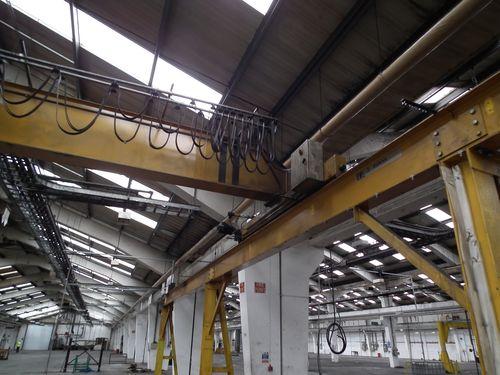 gantry tracks 5t crane