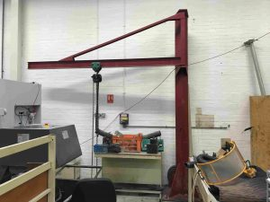 Used 125kg overbraced jib crane