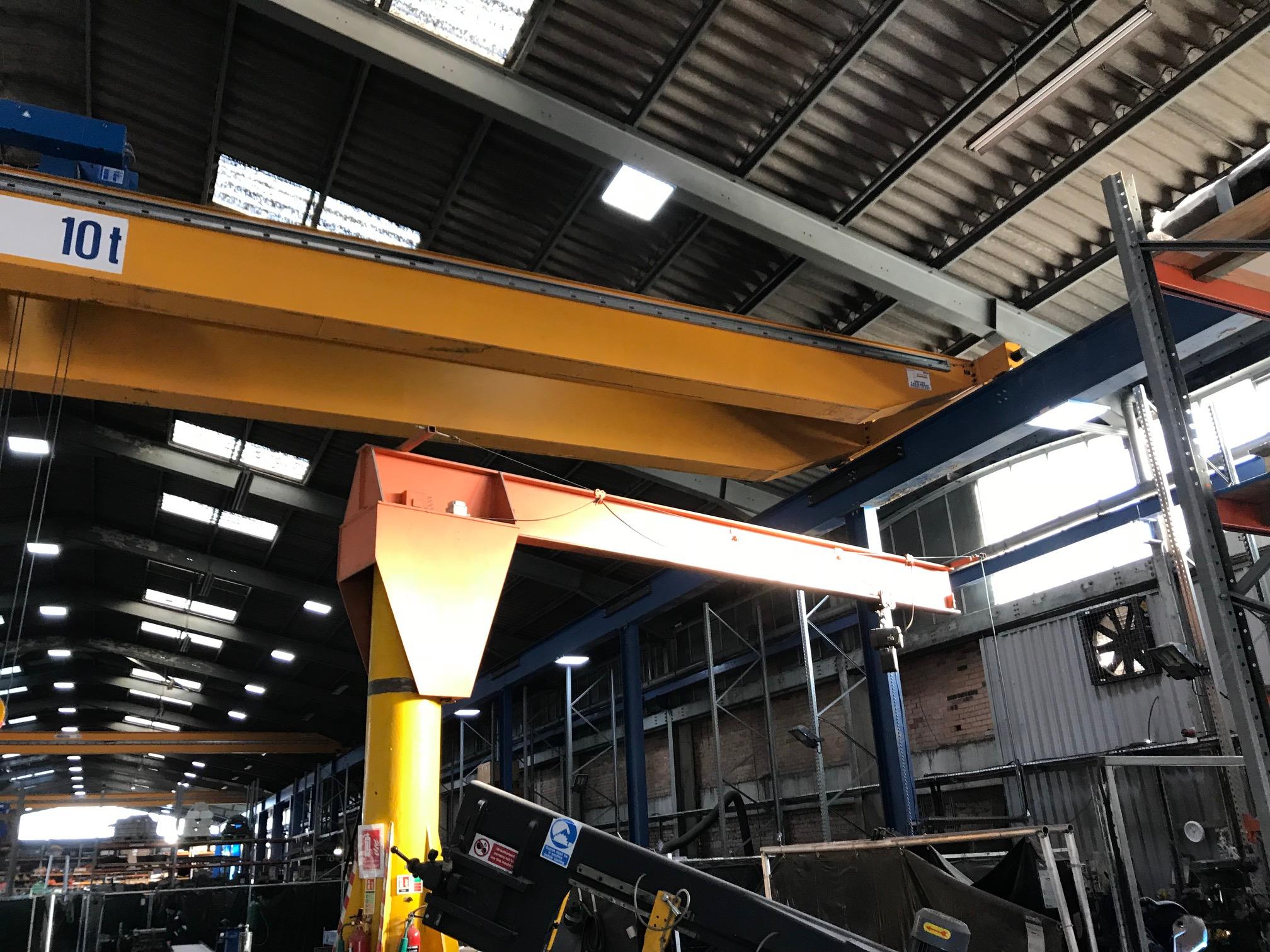 twin girder crane