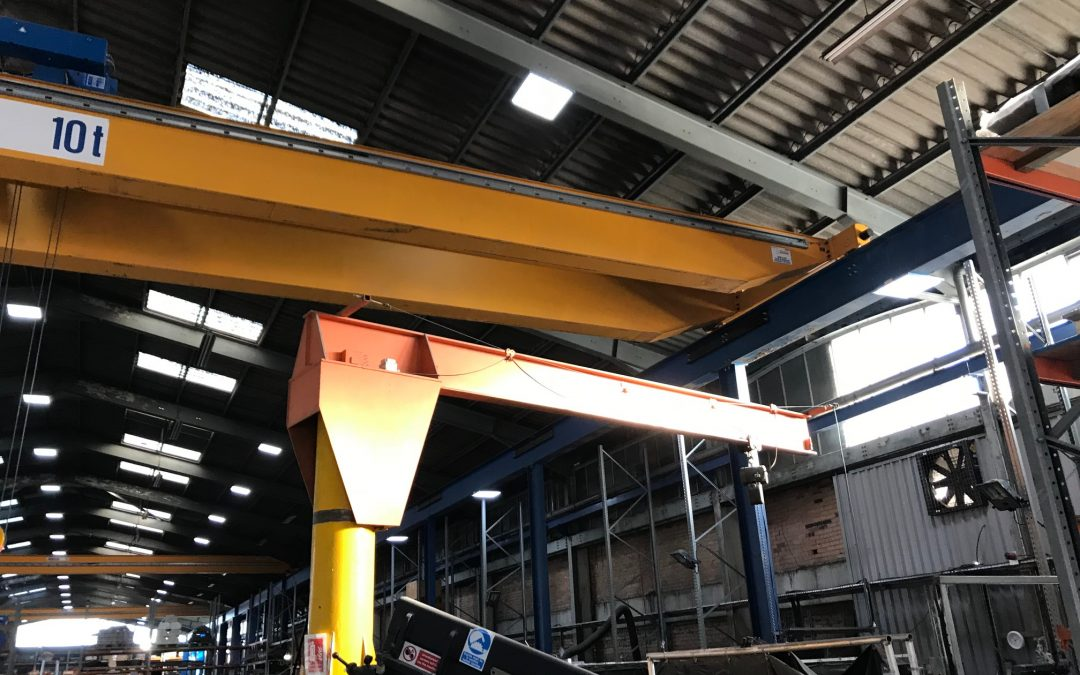 ABUS Double Girder Crane; Second Hand. SOLD.