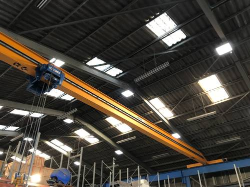 abus single girder crane
