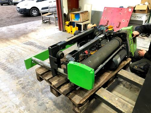 2t Stahl Rope Hoist.  Used condition. AG387.