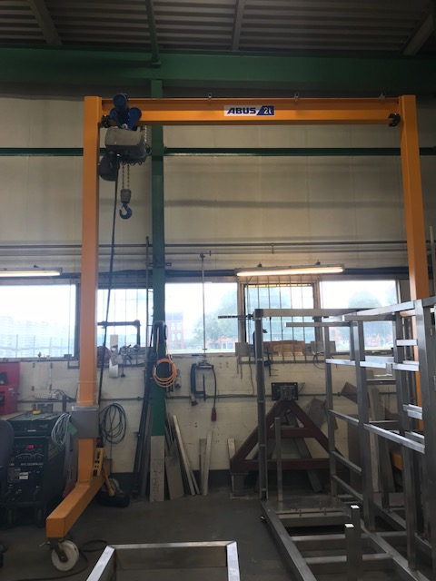 Used Abus A-Frame 2000kg For Sale