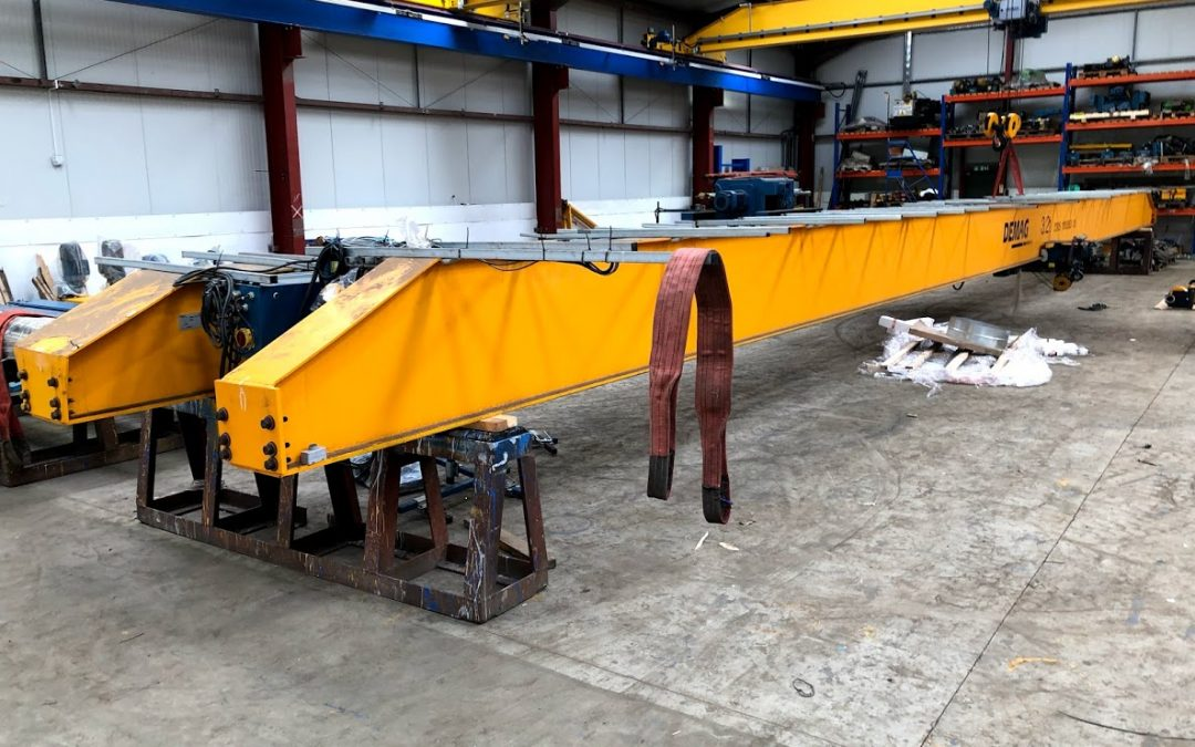 2x 3.2 tonne Demag Used Cranes For Sale. Sold Secondhand Cranes Wanted.
