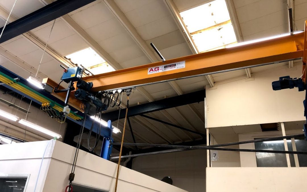 1 tonne second hand overhead crane AB2