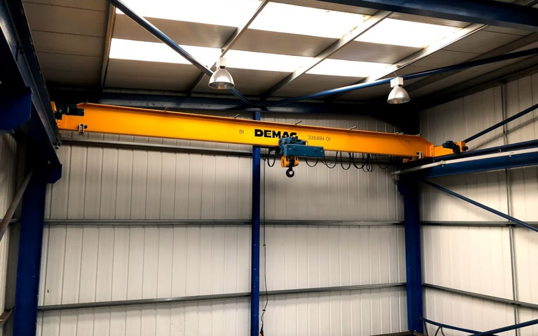 Demag 8t SWL Wire Rope Hoist