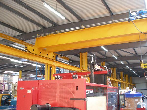 New 16 tonne overhead crane