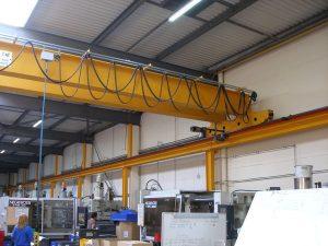 double rail crane