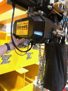 Street chain hoist, type XL