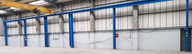 crane running rails