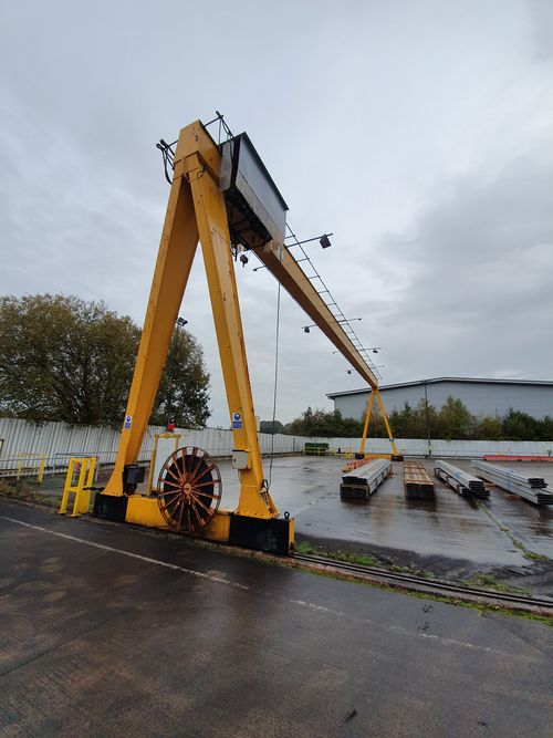 5t Goliath Crane For Sale, 30 meters wide.