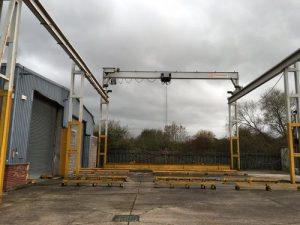 crane steelwork