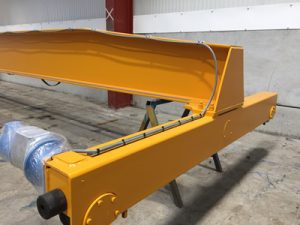 top mounted end carriage