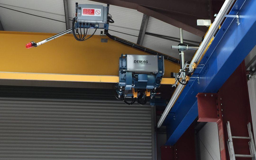 4000 kilos SWL Overhead Crane, 16.7 meters span.
