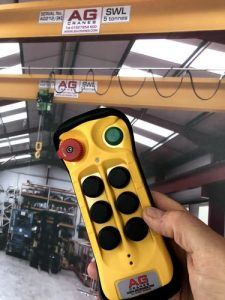 flex base 6 button crane radio