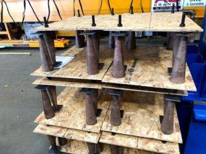crane ground anchor cones