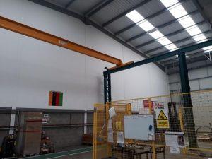 gantry crane support steel