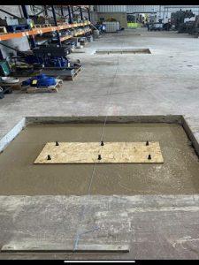 sunken floor cones