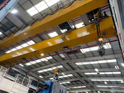 60 tonne SWL crane