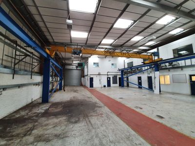 Demag crane and gantry steelwork for sale