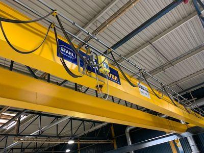 Stahl double girder crane