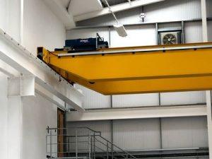 under notched crane beams