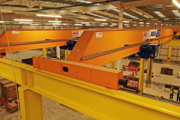 Gantry Crane on gantry steel track